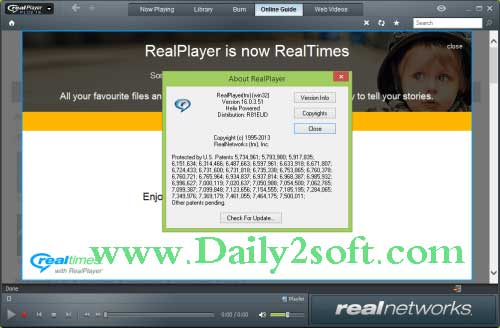 RealPlayer + 18 Crack With Serial Key Free Download Latest Full Version