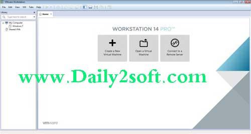 VMware Workstation Pro 14.0.0 Crack Free Download [Latest] Full Version
