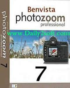 Benvista PhotoZoom Pro 7.1 Crack + Serial Keys [Latest] Free HERE!