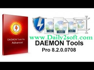 DAEMON Tools Pro 8.2.1 Crack & Serial Key Now Free [Get Here]