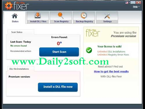 DLL-Files Fixer 3.3.91 Crack With License Key Free Download Here!