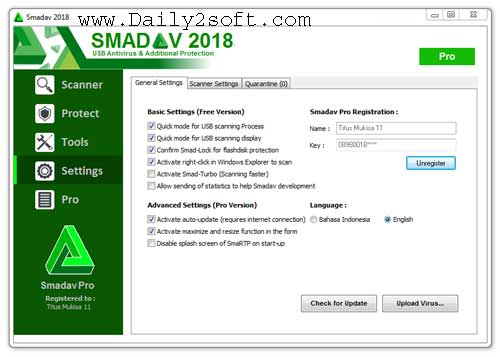Download Smadav 2018 Rev.11.8 Crack & Serial Key [Latest] Full Version