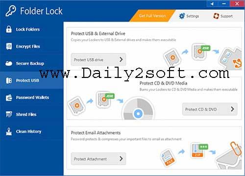 Folder Lock 7.7.3 Crack 2018 & Registration Key Download