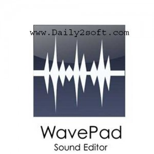 WavePad Free Download Sound Editor 8.01 [Full] Crack & License Key