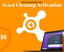 Avast Cleanup 2018 Crack With Activation Code [Full] Free Download List Lifetime