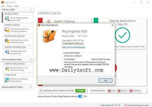 Reg Organizer 8.04 Crack 2018 & Serial Keys Free Download [Here]