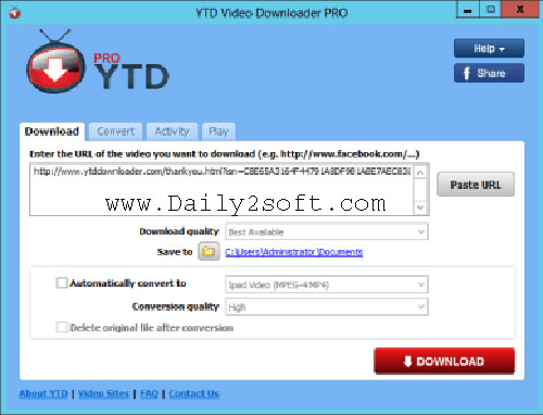 Youtube Downloader Pro 5.9.6 Crack & Serial Key [Here]