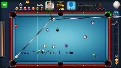 8 Ball Pool APK MOD v3.11.5 (2018) Free Download BY Daily2soft