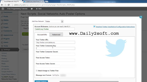 Download Social Auto Poster v2.6.0-Wordpress Plugin Daily2soft [Here]