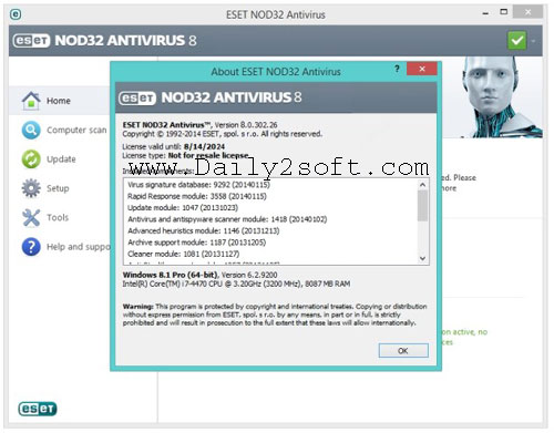 EsetNod Antivirus Download 32 v11.1.54.0 Crack & Keygen Full Version