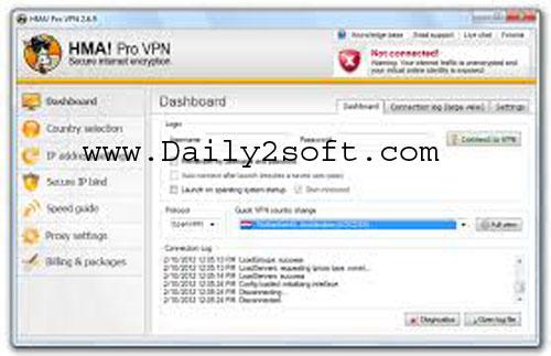 HMA Pro VPN 4.0.110 Plus License Keys Download Here! [Latest]