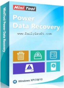 MiniTool Power Data Recovery 8.0 & Crack [Download] Full Version