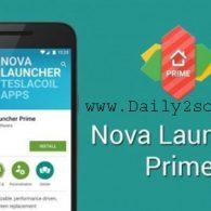 Nova Launcher Pro 5.5.4 Prime APK Cracked 2018 TeslaCoil [Latest] Download