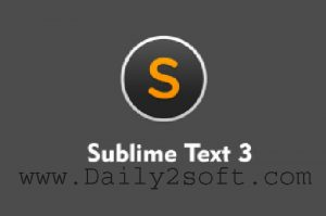 Sublime Text 3.1.1 Crack & License Kye Build 3176 [Latest] Here