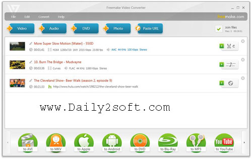 Freemake Video Converter 4.1.10.80 Crack With Serial key Downlaod