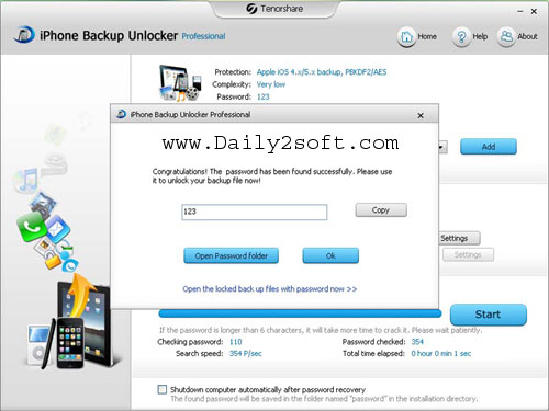 iPhone Backup Unlocker Crack & Code [Full Version] Download