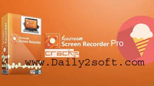 IceCream Screen Recorder Pro Crack & Keygen [Free Download] INCL