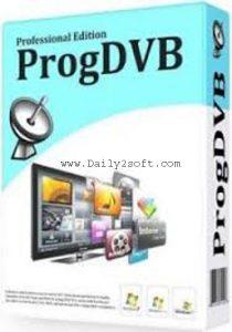 ProgDVB Pro 7.24.5 Crack & Keygen Free Download Here