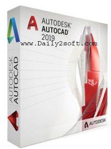 AutoCAD 2019 Crack & License Keygen [Lifetime] Free Download