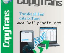 CopyTrans 5.603 Crack & Activation Code Free Download For [Lifetime]