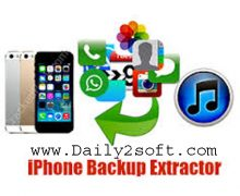 Download iPhone Backup Extractor 7.6.2.793 Crack With Keygen [2018]