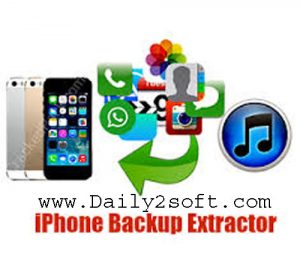 Download iPhone Backup Extractor 7.6.2.793 Crack With Keygen [2018]