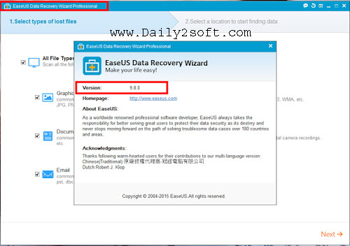EaseUs Data Recovery Wizard 12.0 Crack & Keygen Free Download