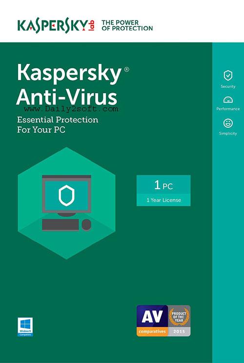 Kaspersky Antivirus 2018 Crack With Activation Code Download