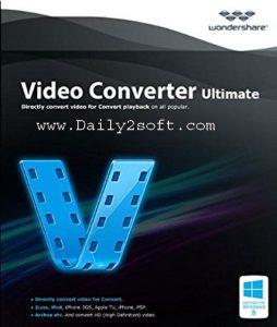 Wondershare Video Converter Ultimate 10.3.1.181 Crack & Serial Key