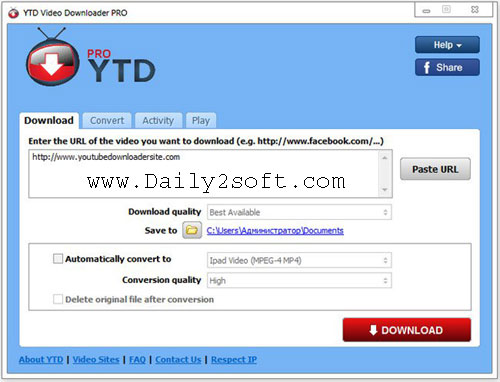 YTD Downloader Free Download Video Pro 5.9.7.4 Crack [Latest] Full Version