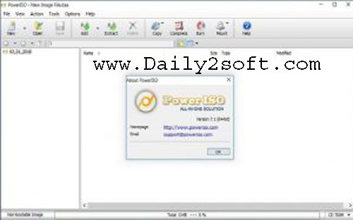 free poweriso 7.2 serial key