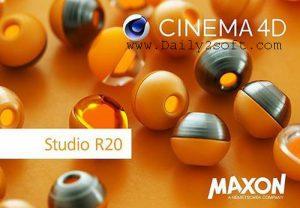 Maxon Cinema 4D Studio R20 & Crack Free Download [Here]