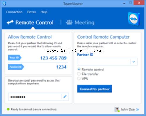 TeamViewer 13.2.26558 Crack & Serial Key Download [Here] Now