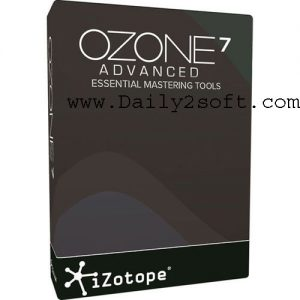 iZotope Ozone Advanced 7 Crack Free Download Windows Mac