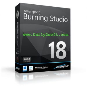 Ashampoo Burning Studio Key 2018 19.0.2.7 & Crack Full Version