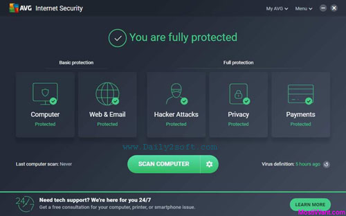 Download AVG Internet Security 2019 18.6.3983 & Crack [Latest] Version