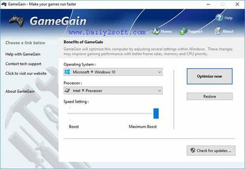 Download GameGain 4.6.4.2018 Crack + Keygen + Patch & Serial Key