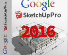 Google SketchUp Pro 2016 Crack Free Download [Here]