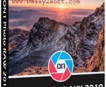 ON1 Photo RAW 2019 v13.0.0.6139 Crack [LATEST] Update Here!