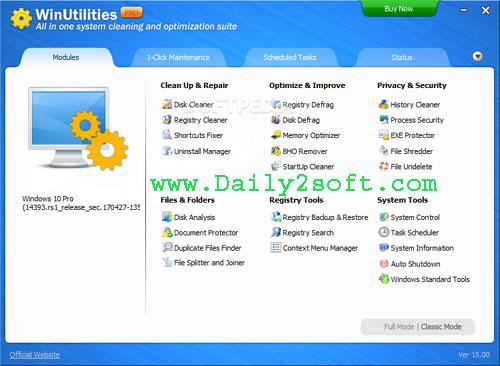 Winutilities Pro Key 15.4 + Crack Free Download [Here]