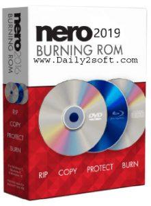 Nero Burning ROM 2019 v20.0.2005 Crack + Serial Key Download