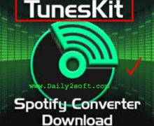 TunesKit Spotify Converter 1.4.0 Crack + Serial Key Download