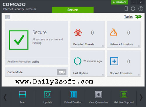 Comodo Internet Security Pro 10 Crack + License Key Download