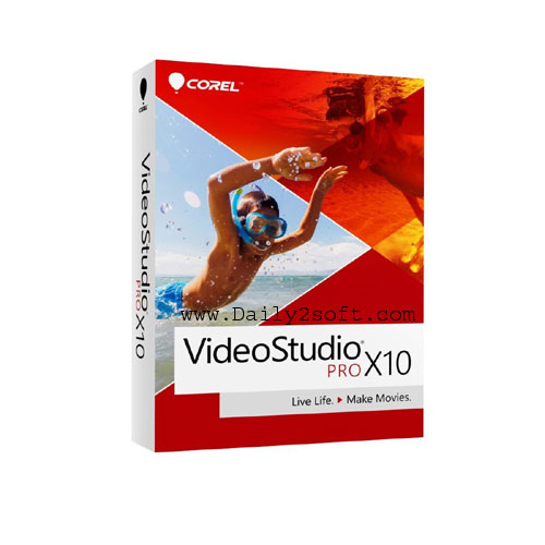 Corel Videostudio x10 Crack + Serial Key Daily2soft Download