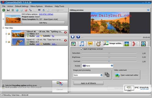 VSO ConvertXtoDVD 7.0.0.64 & Crack [Latest] Version Free Download