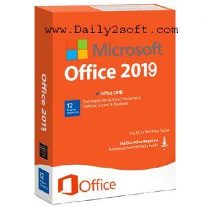 Microsoft Office 2019 Crack + Serial Key [Window + Mac] Free Download