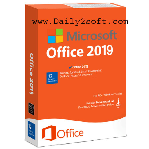 Microsoft Office 2019 Crack + Serial Key [Window + Mac] Free Download