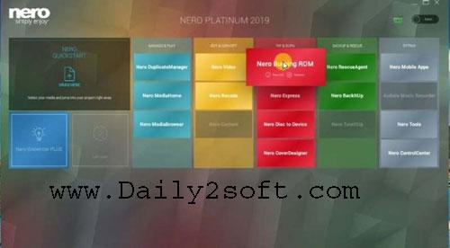 Nero 2019 Platinum Crack + Serial Key Free Download [Latest]