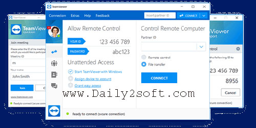 TeamViewer Free Crack 14.1.9025 [2019] + License Key Download